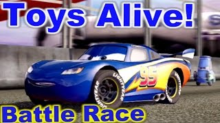 Cars 2: The video Game - Lightyear Lightning - Battle Race on Runway Tour.