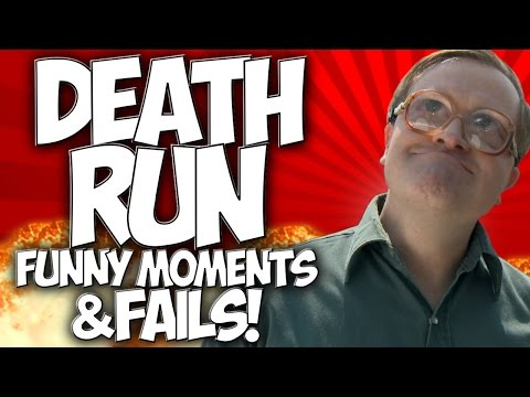DEATH RUN: FUNNY MOMENTS & FAILS!! GMOD with TEAM KALIBER!!