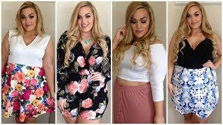 Plus Size Summer Haul + Try-On | Rompers, Shorts, Crop Tops & More!