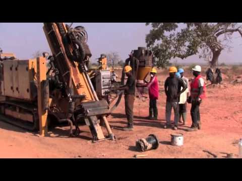 Reverse Circulation Drilling in Africa with the HARDAB 7000 RC