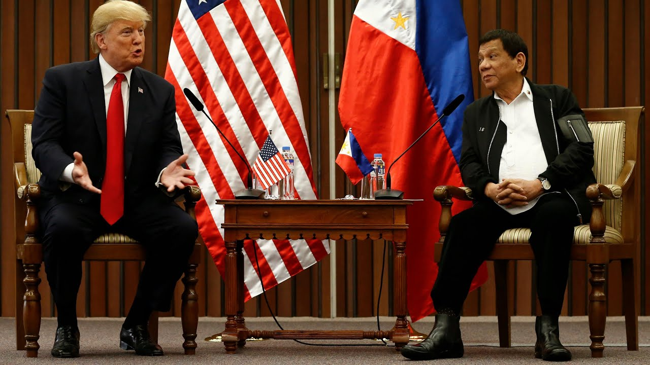 Trump boasts of 'great relationship' with Duterte at ASEAN summit
