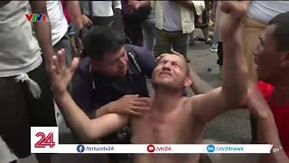 Những cách vượt biên vào Mỹ không ai ngờ tới của dòng người di cư từ Honduras| VTV24