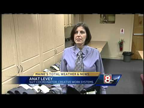 Portland Career Center helps with suits