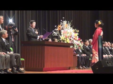 筑波大学で卒業式