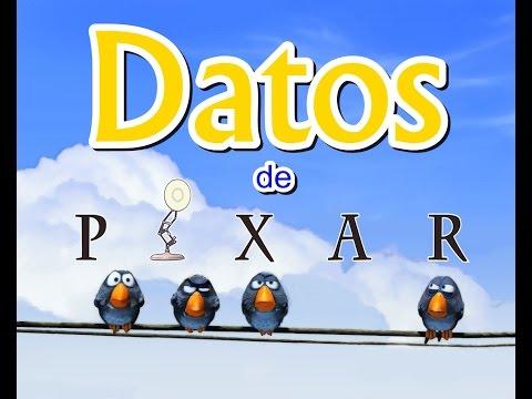 Datos Curiosos de Pixar