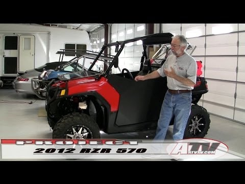 ATV Television - Polaris RZR 570 Project Wrap-up Best RZR Ever