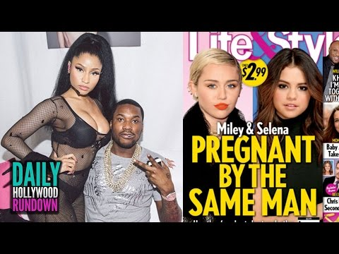 Miley Cyrus Pregnant By Justin Bieber? Nicki Minaj Engagement Details! (DHR)