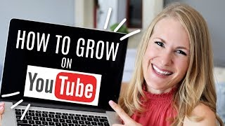 How to start and actually GROW on YouTube! ❤️ (REAL advice from a vet creator!)