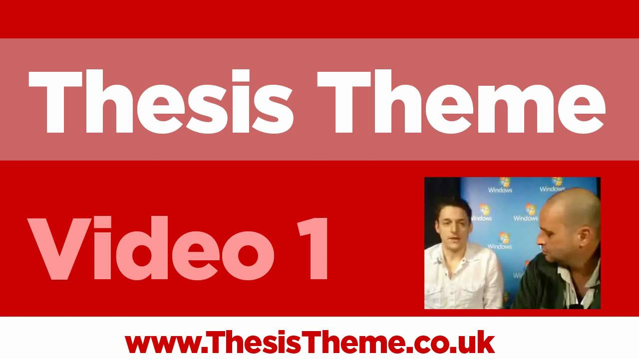 thesis vs theme A thesis or dissertation is a document submitted in support of candidature for an academic degree or professional qualification presenting the author's research and.