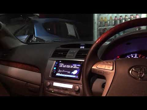 Upgrade Audio Mobil Di Toyota Camry Sistem Sound Quality By Cliport Audio Bandung
