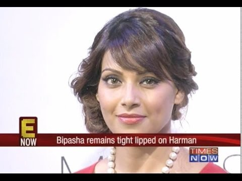 Bipasha Basu tightlipped on Harman Baweja