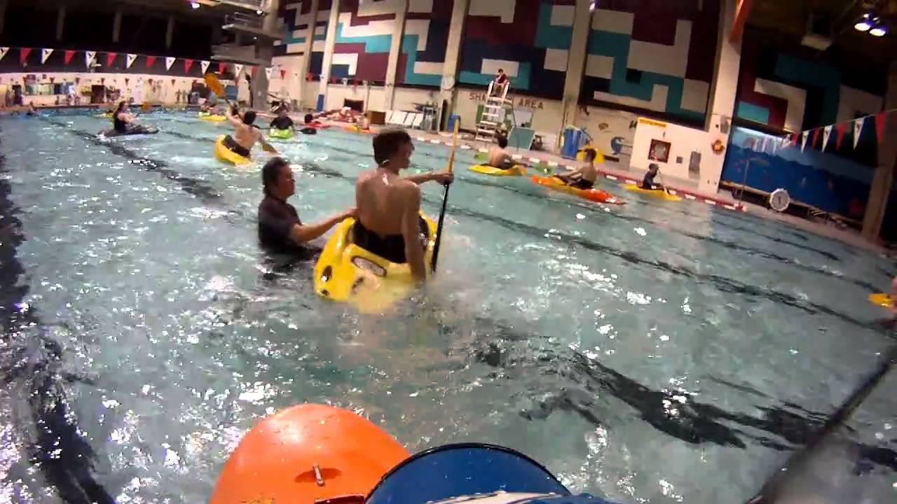 Carleton University Kayak Club Pool Madness Youtube
