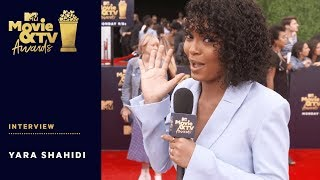 Yara Shahidi Talks Lena Waithe & Social Activism | 2018 MTV Movie & TV Awards