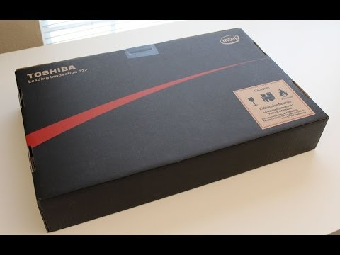 Toshiba Satellite P75-A7200 / A7100 Laptop Unboxing