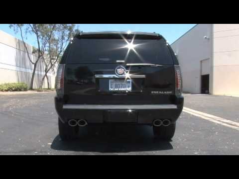 #15179 2013 MagnaFlow Equipped Cadillac Escalade Take Off