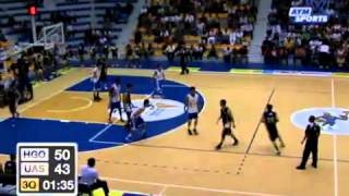 Basquetbol Varonil UAS vs ITESM Hidalgo Universiada Nacional 2013