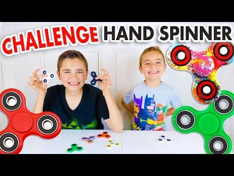 CHALLENGE HAND SPINNER - Mère VS Fils