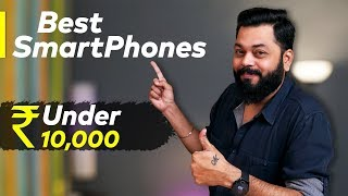 TOP 6 BEST MOBILE PHONES UNDER ₹10000 BUDGET ⚡⚡⚡ January 2020