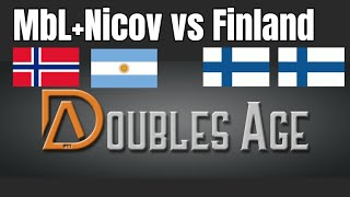 Nicov+MbL vs TheMax+Rubenstock | WHAT A GAME 2... oh my | Doubles Age