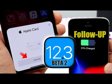iOS 12.3 beta 2 Follow-Up | New Apple Card Activation UI / Bugs & More...