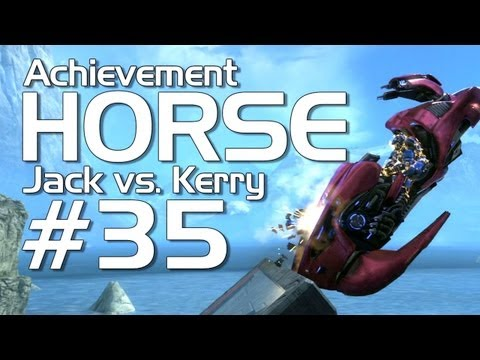 Halo: Reach - Achievement HORSE #35 (Jack vs. Dragonface!)