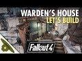 Lagu Fallout 4: Thicket Excavations Prison  Warden&39;s manor  Let&39;s Build Part 10