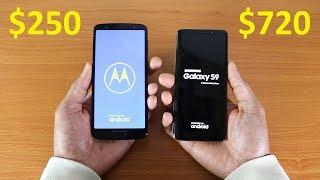 Moto G6 Vs Galaxy S9 Speed Test 2018