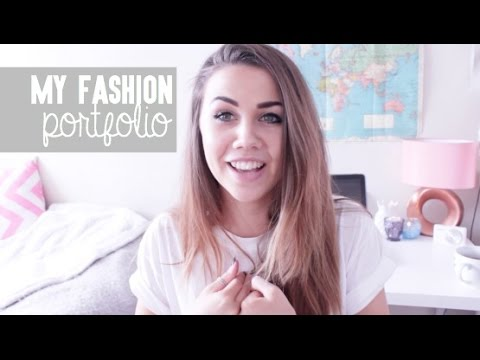 My Fashion Design Portfolio: University | CopperGardenx