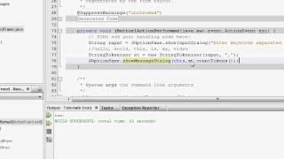 Java Tutorials - Analyzing and splitting Strings using String Tokenizer - Session 29