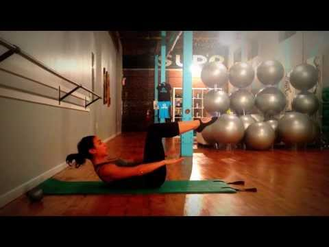 Pilates Tutorial: Double Leg Stretch