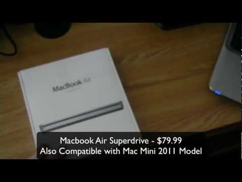 Unboxing the Apple Macbook Air Superdrive!!!