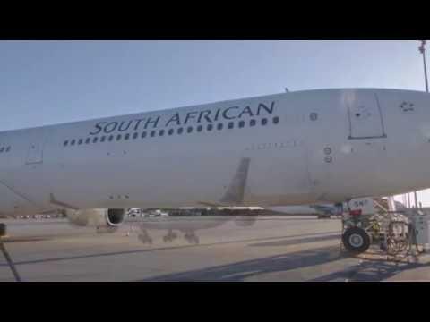 65 Jahre SAA Strecke Johannesburg-Frankfurt / #SAA #Fraport