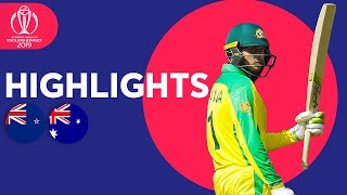 Boult Hat-Trick! | Australia vs New Zealand - Match Highlights | ICC Cricket World Cup 2019