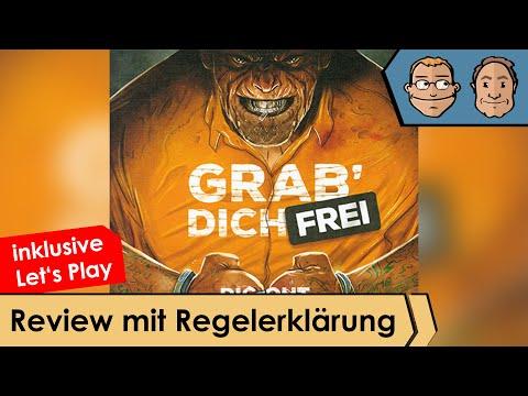 Grab dich frei - Brettspiel - Review und Regelerklärung