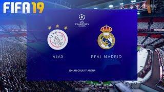 FIFA 19 - AFC Ajax vs. Real Madrid @ Johan Cruijff ArenA