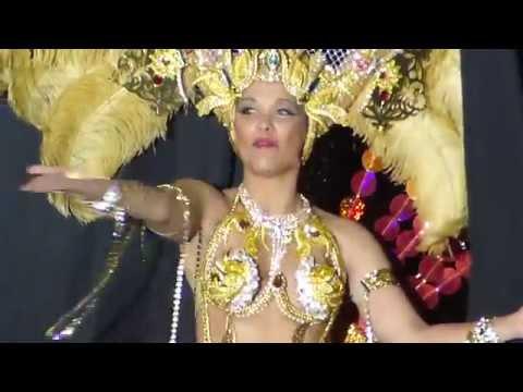Primera dama de honor del Carnaval de Cartagena 2015