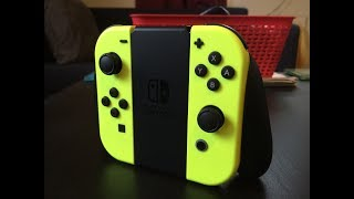 Neon Yellow Joy-Cons Unboxing and Impressions - Nintendo Switch Controller