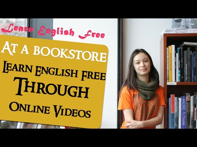 At a bookstore - Learn English Free Through Online Videos