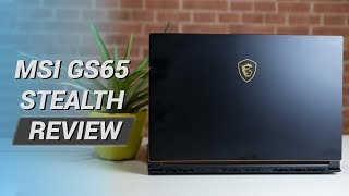MSI GS65 Stealth Review!