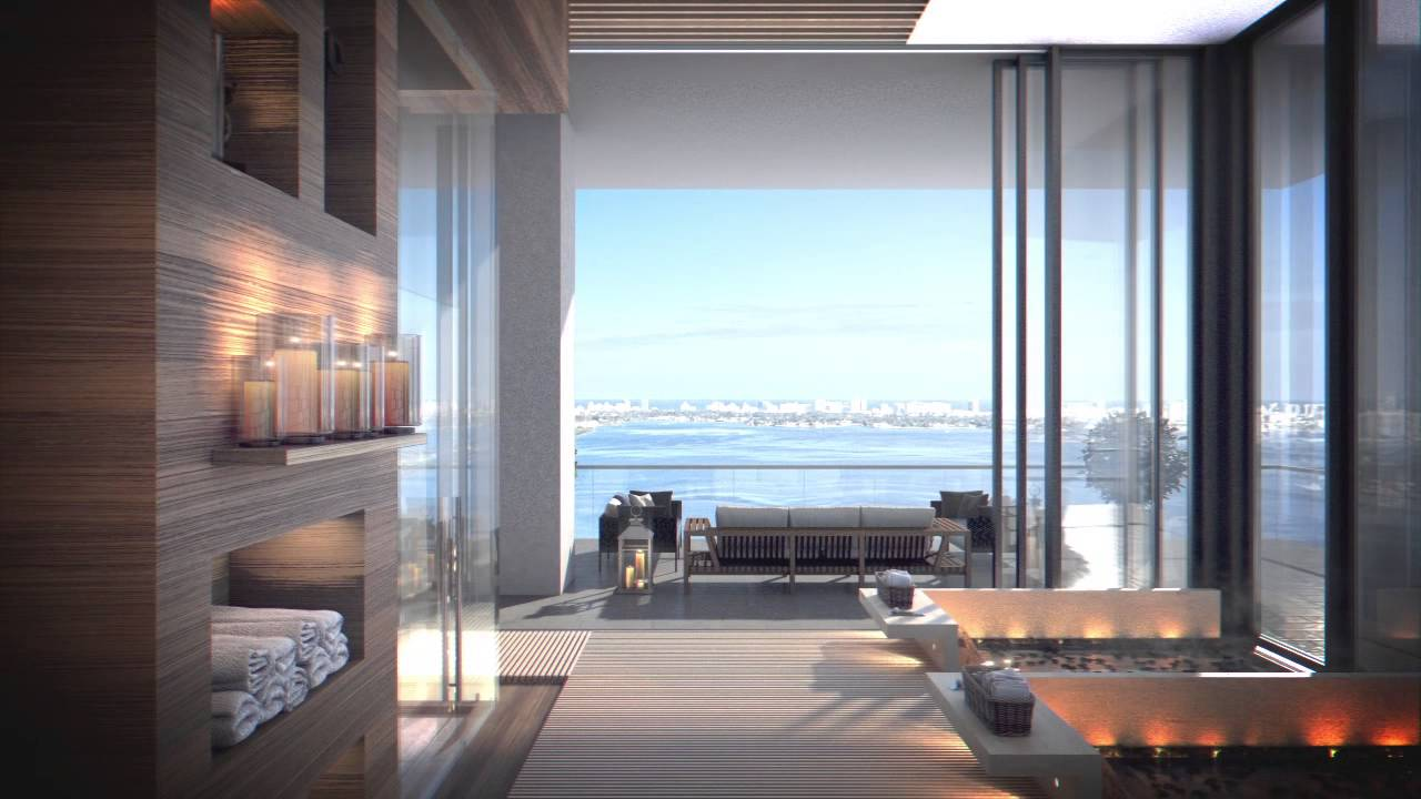 One Paraiso Miami Edgewater Luxury Waterfront Condos