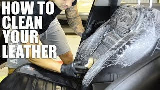 How to Clean and Condition Your Leather Seats with Lexol