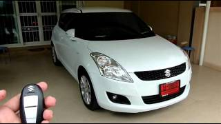 Po-40 : Remote Control Auto Side Mirror : Suzuki Swift ECO 2012 Thailand