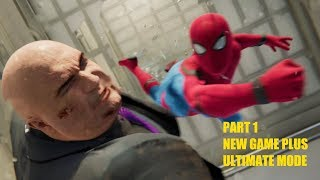 Spider-Man PS4 - NEW GAME PLUS ULTIMATE MODE PART#1