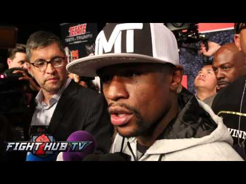 Floyd Mayweather on Pacquiao being exciting fighter, not studying film & fight not being east task
