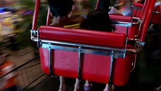 Gila jantung rasanya pengen copot karna naik permainan ini...,main roller coaster di transmart...!!!