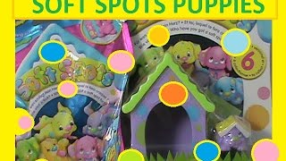 Soft Spot toys 1 blind bag season 2 and 2 packs with a house and a puppy  inside)