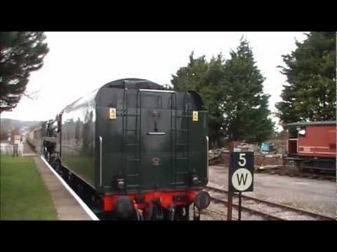 West Somerset Railway - 'SPRING STEAM GALA' (GWR175 - The 'Standard' Revolution) 28/03/2010