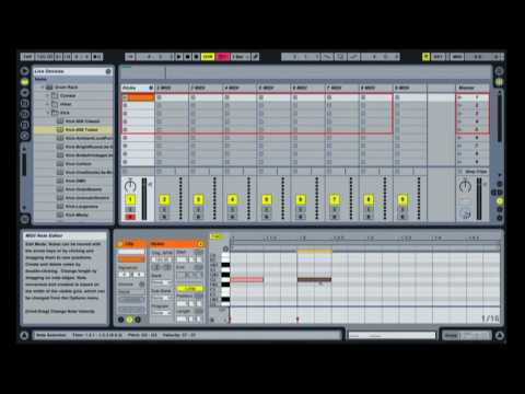Multiple MIDI instruments in a single Ableton Live channel