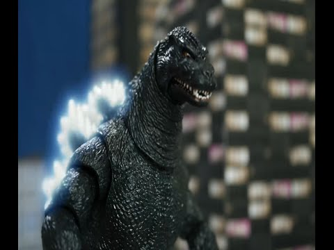 Godzilla 1994 NECA Stop motion sneak peak