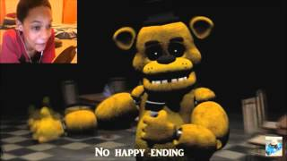 [FNAF 3 SFM] Salvaged FNAF 3 Song REACTION | IT